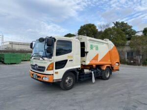 丸安運輸 名古屋市指定車両6tパッカー