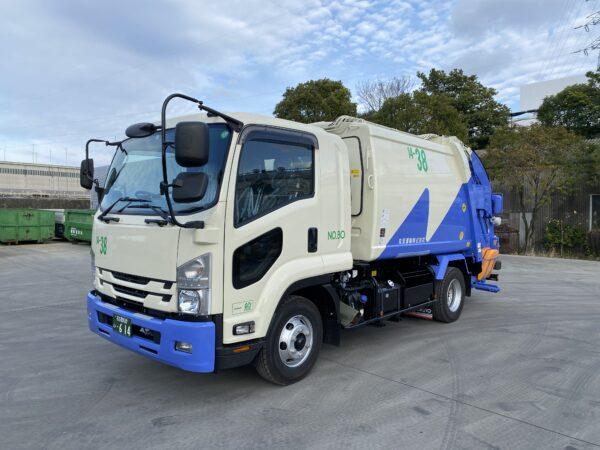 丸安運輸 名古屋市指定車両4tパッカー