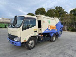 丸安運輸 名古屋市指定車両2tパッカー